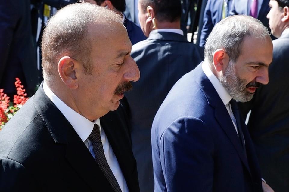 Алиев и Пашинян встретятся в Москве